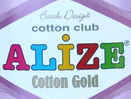 COTTON GOLD BATIK